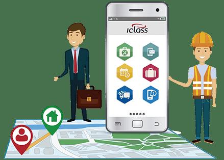 Técnico Gestor IClass Software de ordem de servico online Ordem de servico online   Software