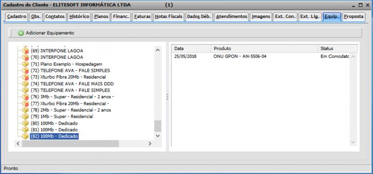 12. Conferência do encerramento da OS e movimentação do estoque 6 768x359 Manual de Integração IClass FS e Integrator
