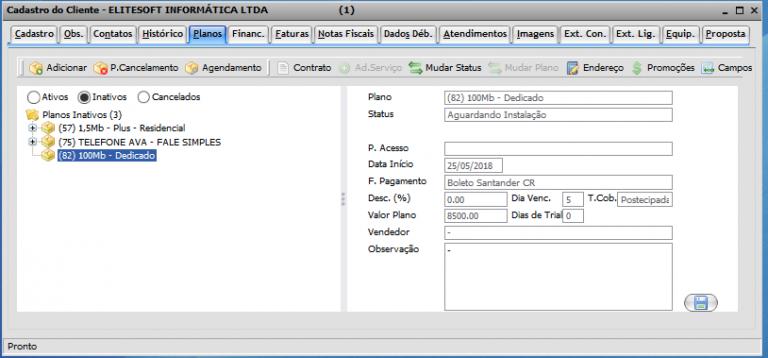5. Criação de OS 768x358 Manual de Integração IClass FS e Integrator